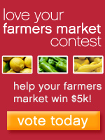 love your farmers market contest - help your market win $5,000 - vote today!