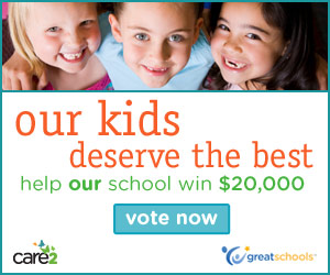 America's Favorite School Contest - help your school win $20,000 - vote today!