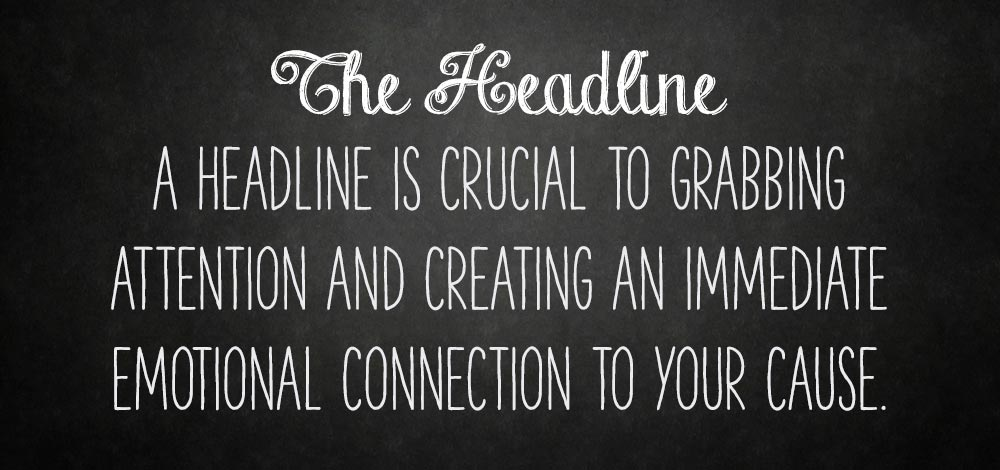 a headline is crucial to grabbing attention