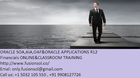 Oracle Applications Online Training