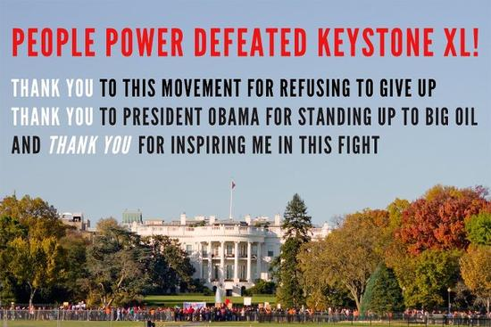 No Keystone XL Pipeline