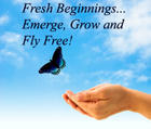 Fly free and create YOUR Fresh Beginning