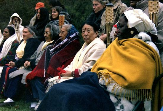 Grandmothers 1st Gathering Sitting