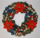 Homemade Christmas Wreath with Candy