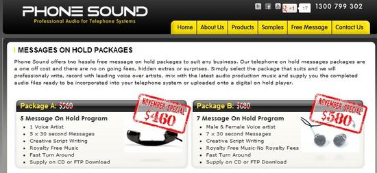 Find a new way to search on hold messages. Visit http://www.phonesound.com.au/