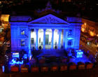 Brussels Bourse Blue