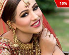 Get 10% Discount on Complete Bridal package