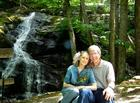 Donna and Randal at Crabtree Falls, Tyro, VA