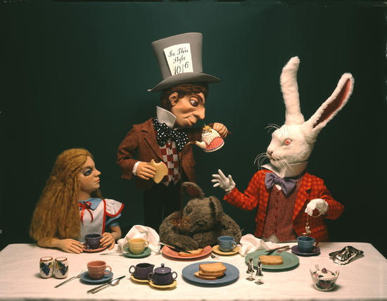 Mad Tea Party, soft sculpture