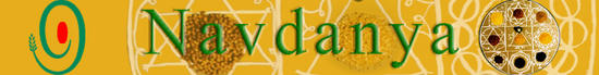 Navdanya, Logo for Vandana Shiva's network of seed keepers & organic producers spread across 17 Indian states