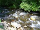 Little Pigeon River in Smoky Mountains, between Gatlinburg TN and Cherokee NC