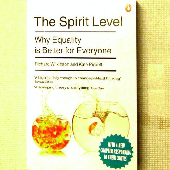 The Spirit Level -  bookcover of the new edition with a chapter responding to critics