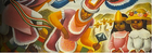 Detail of 1943 Oaxaca Mexico travel poster by Miguel Covarrubias
