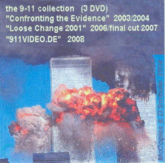 DVD.cover (Papierhuelle) - 911 COLLECTION