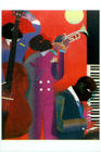 "Romare Bearden, ""Up At Minton's"""