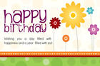 Happy Birthday with birthday wishes 2