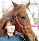 Betty the horse and myself