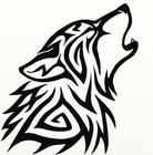 Tribal Wolf Howl