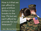 bernie sanders tax breaks but not veterans.png