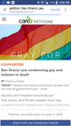 Sign the ban of Sharia law that carries the death penalty for any gay or lesbian.