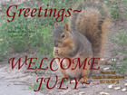 WELCOME JULY