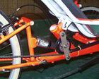 Tulpa~ rear suspension and chain guide roller