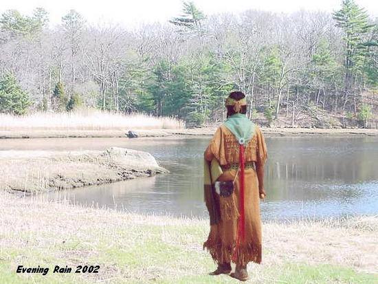 Cherokee Woman going to water