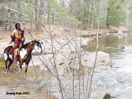 INDIAN ON HORSE CROSSING A STREAM1.jpg