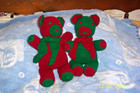 Red and Green Teddys