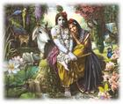 Radharani and Krishna