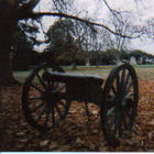 Cannon at Gettysburg National Cemetary