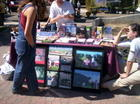 Helping animals...Farm Sanctuary (California Shelter) booth