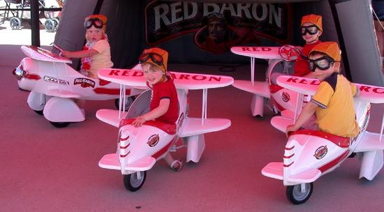 Mighty Red Baron and Grandchildren