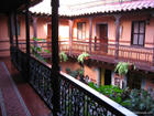 Hotel Courtyard in Cuzco