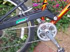 Swingarm and crankset
