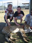 Niko & myself at the Cheetah Outreach