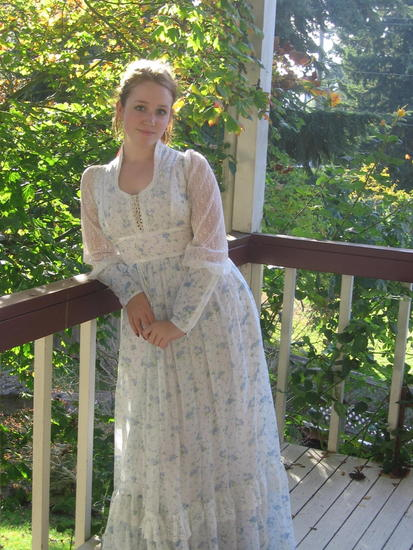 Elena the beautiful Gunne Sax Queen of Seattle