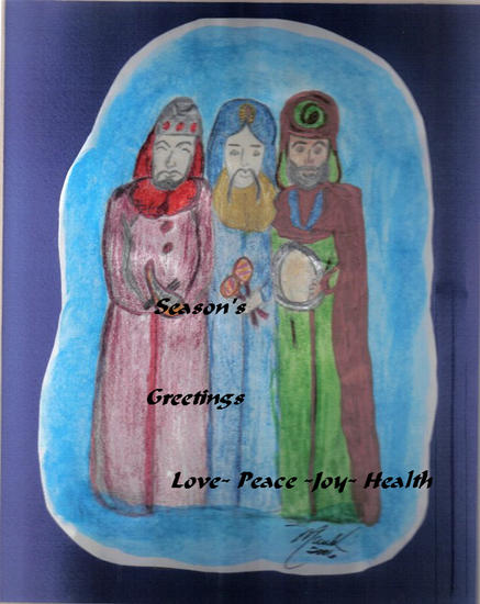 Three Wise Man Greeting