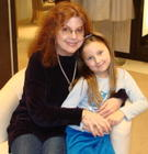 With my precious granddaughter