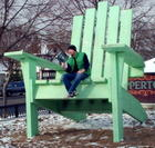 Little me or Big chair?