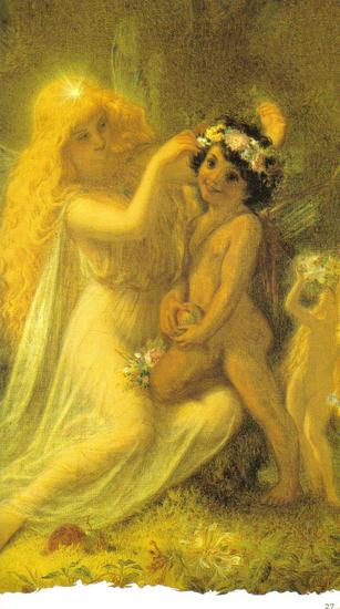 Fairy Art Titania and the Indian Boy by Sir Joseph Noel Paton.jpg