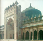 Dargah Mosque at Fatehpur Sikri