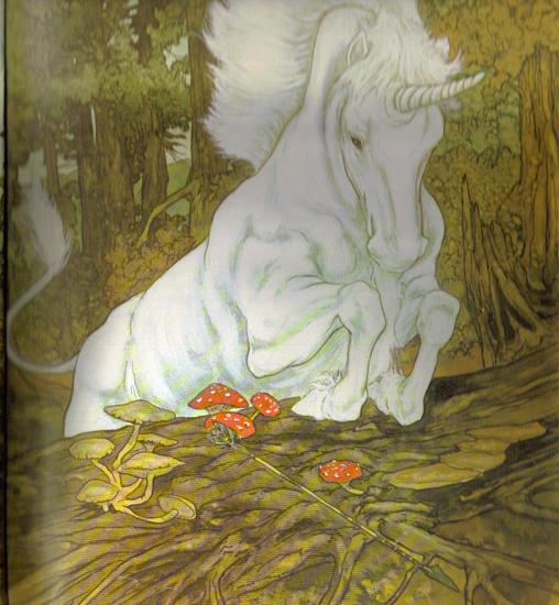 The Unicorn and the Lake Illustrated by Michael Hague 4.jpg