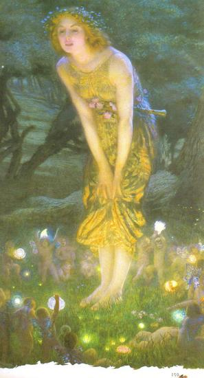 Fairy Art  Midsummer  Eve 1980  by Edward Robert Hughes.jpg