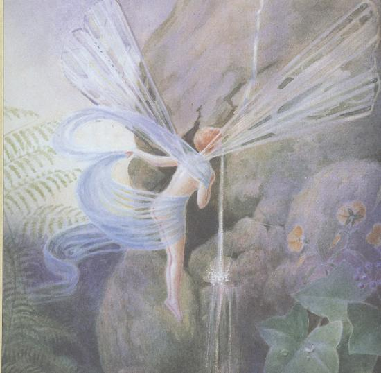 A Flower Fairy by J_G_ Gregory 2 lbl The Faeryland Companion.jpg