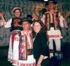 Dancers in Romania