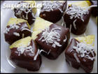 Chocolate Dipped Coconut Pineapple