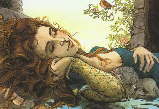 The Sleeping Beauty by Trina Schalt Hyman 39 lbl.jpg