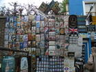 A shop selling a huge variety of sign boards