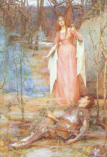 The Arthurian Traditoin Artist Unknown to Me 35 lbl.jpg